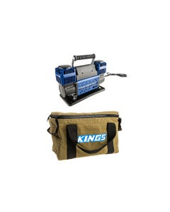 Thumper Max Dual Air Compressor + Adventure Kings Canvas Thumper Bag