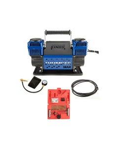 Thumper Max Dual Air Compressor + Kwiky Tyre Deflator + Tyre Repair Kit + Thumper Air Hose Extension 4m