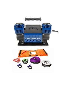 Hercules Essential Nylon Recovery Kit + Thumper Max Dual Air Compressor