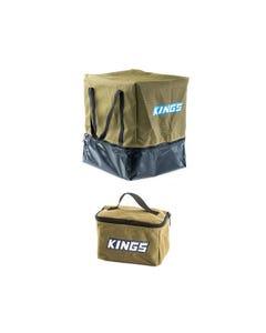 Adventure Kings Toiletry Canvas Bag + Camping Toilet Bag