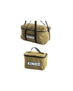 Adventure Kings Travel Canvas Bag + Toiletry Canvas Bag