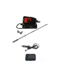 Oricom UHF380PK In-Car 5W CB Radio + Adventure Kings Heads Up Display (HUD)