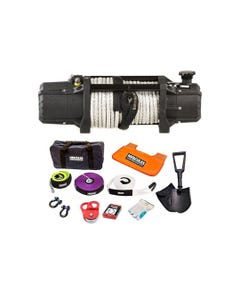 Domin8r Xtreme 12,000lb Winch + Hercules Complete Recovery Kit