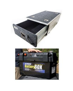 Titan Single Drawer 900mm + Maxi Battery Box