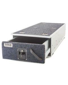 Titan 1300mm Single Ute Drawer | Lockable | Steel Frame | Heavy Duty
