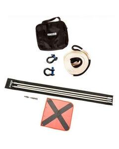 Hercules Snatch Strap Kit + Adventure Kings 3m Sand Safety Flag