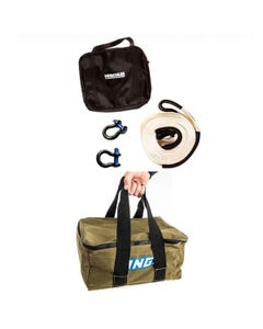 Hercules Snatch Strap Kit + Adventure Kings Canvas Recovery Bag