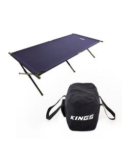 Adventure Kings Camping Stretcher Bed + 40L Duffle Bag