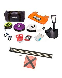 Hercules Complete Recovery Kit  + Adventure Kings 3m Sand Safety Flag
