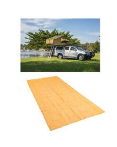 Adventure Kings Roof Top Tent + Mesh Flooring 6m x 3m