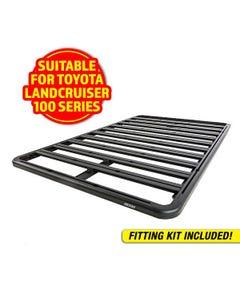 Adventure Kings Aluminium Platform Roof Rack Suitable for Toyota Landcruiser 100 Series 1998-2007