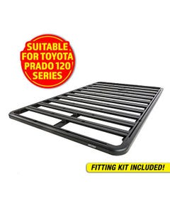 Adventure Kings Aluminium Platform Roof Rack Suitable for Toyota Prado 120 Series 2002-2009