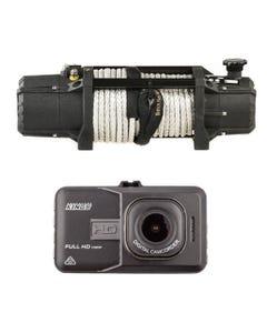 Domin8r Xtreme 12,000lb Winch + Adventure Kings Dash Camera