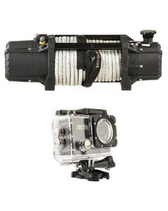 Domin8r Xtreme 12,000lb Winch + Adventure Kings Action Camera